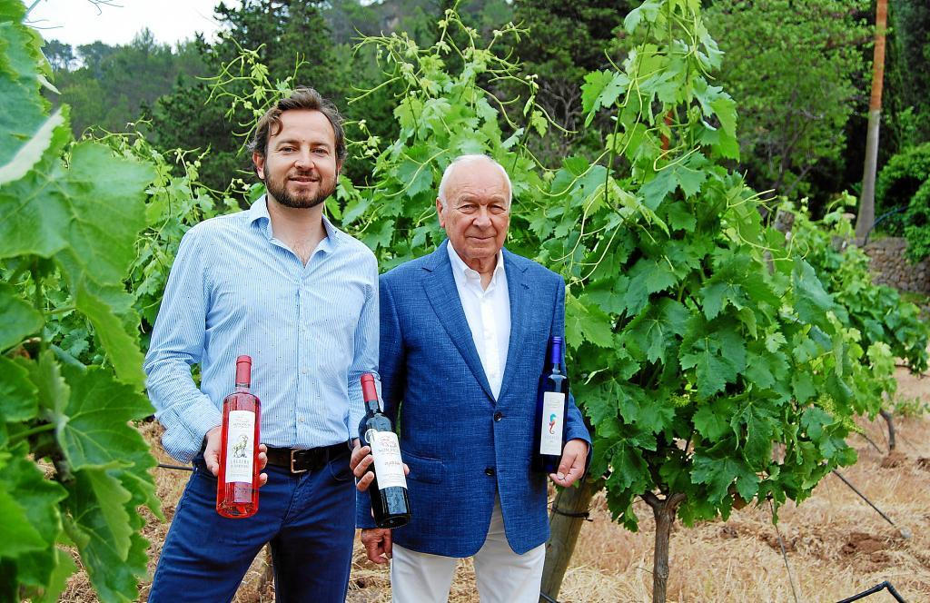 Report on the winery Son Vich in the newspaper El Económico