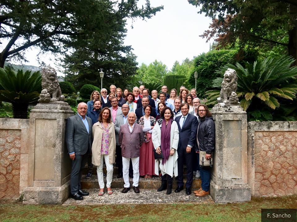 """""""Son Vich de Superna"""" hosts the closing of a conference on Historic Gardens of Mallorca"""