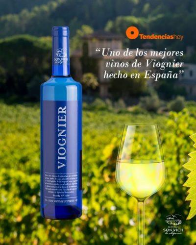 Viognier 2020 als einer der besten Viognier-Weine Spaniens ausgezeichnet